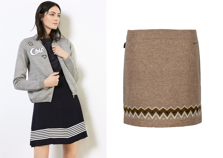 71e399c5d95d Trendy sukně na zimu  Zkuste modely z úpletu! Máme pro vás pohodlné kousky  - Proženy