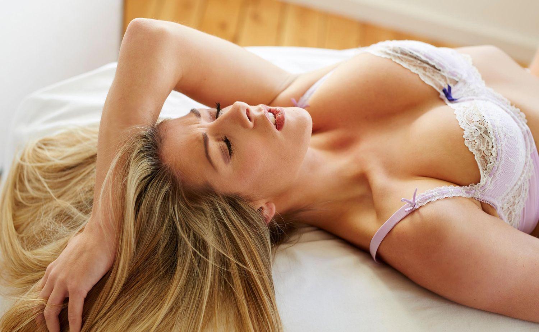Оргазмы шикарной блондинки