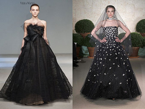 Nevěsty v černé. Originální nebo podivné  - Proženy e089f3147e