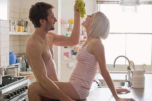 Spontánní sex video
