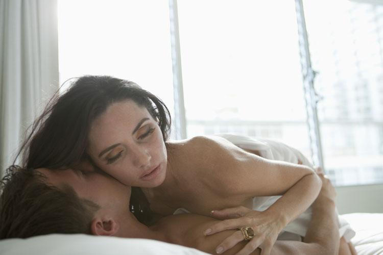 Masáž těla před sexem