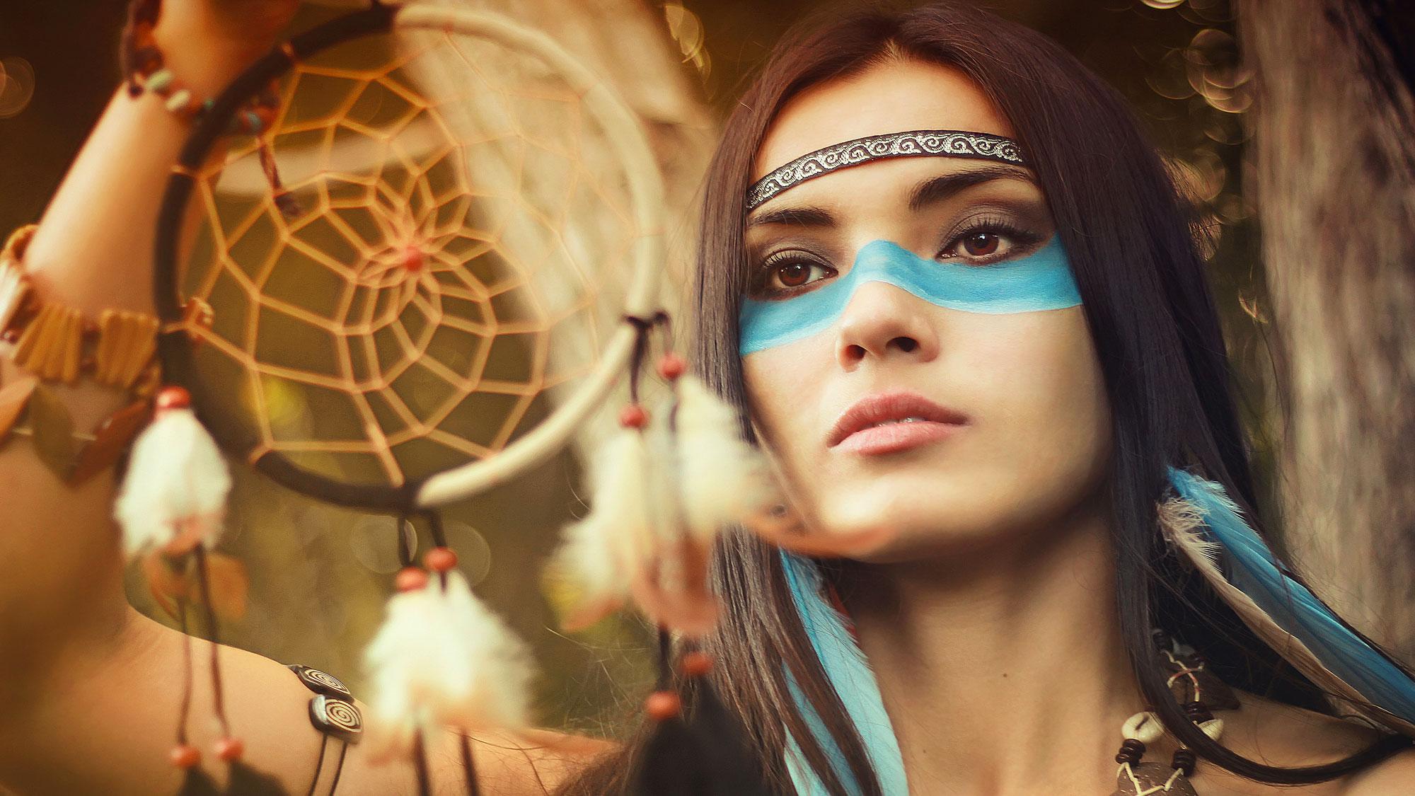 Randění indiánka