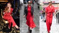 Jako bohyně v rudé i dva roky před 90 a přílišná odhalenost dvacetileté umělkyně: takhle nosí červenou slavné dámy!